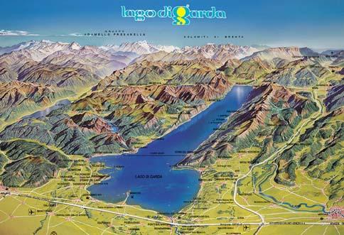 Где лучше жить на озере гарда