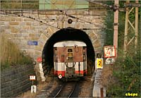 Eisberg tunnel