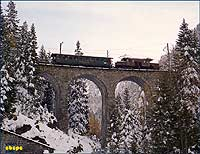 414 on Albula viaduct no. 3
