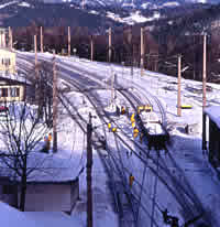 Semmering station overview
